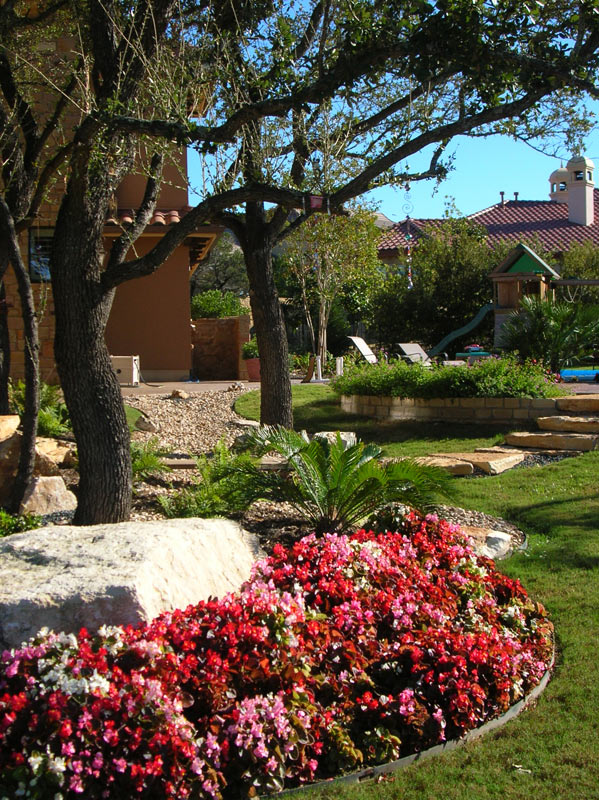 Southern texas landscape design and construction photo gallery for Southern living landscape design