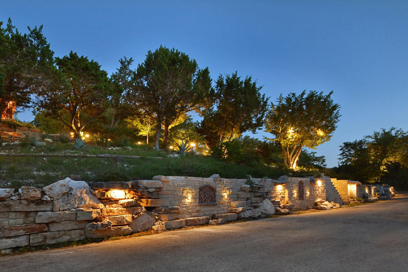 Custom Outdoor Lighting In Austin Texas Southern Landscape