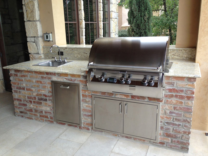 Austin Texas Outdoor Kitchens Southern Landscape
