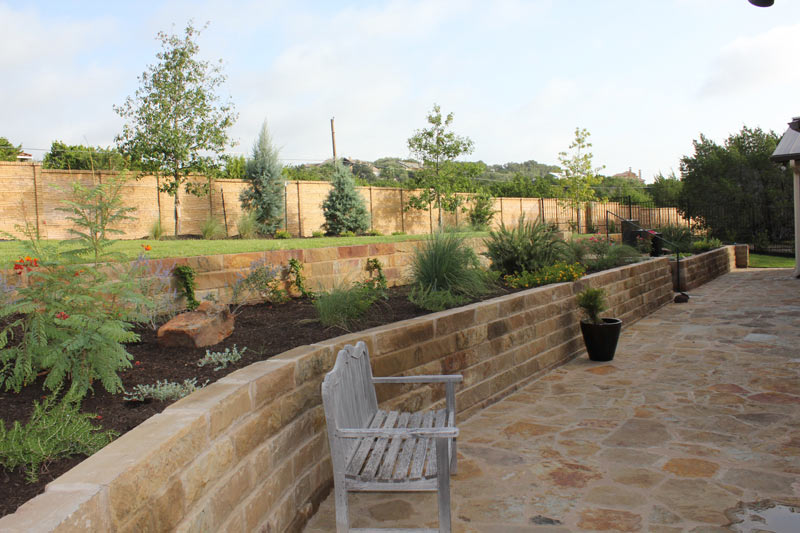 Retaining Walls Photo Gallery Austin Texas Southern